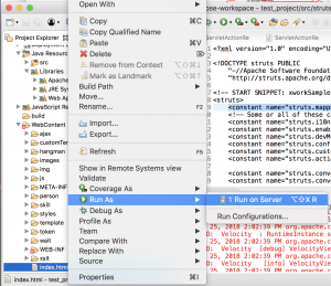 Apache Struts s2-057 POC and dynamic analysis – ༼ つ ◕_◕ ༽つ